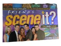 Friends Scene It? DVD Trivia Board Game Adult Party Time 2005 NEW SEALED