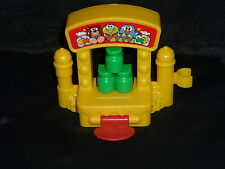 Fisher Price Little People Carnival Fair Fun Park Game Knock Down Bottles