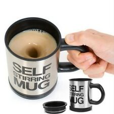 Automatic Plain Mixing coffee Tea cup Lazy Self Stirring mug button Pressin