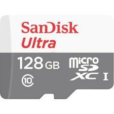 GENUINE Sandisk Ultra MicroSDXC 128GB 80MB/s SDSQUNS-128G Micro SD Memory Card