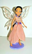 Disney Fairies Fira Fairy Tinker Bell Doll, Deluxe Dress, Sparkly Wings! Rare