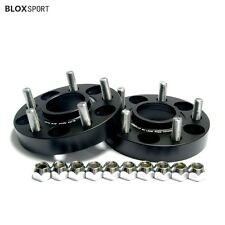 """Land Rover Hubcentric Wheel Spacers Fit Range Rover MK2 P38 2Pcs 1"""" 25mm Black"""