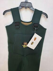 CA5907W8-L Caddis Women's Neoprene Stockingfoot Waders - Large Green New in Box