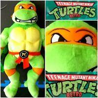 TMNT Backpack Mikey Plush Teenage Mutant Ninja Turtles Soft Cuddly Birthday