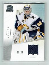 09-10 UD The Cup  Ryan Miller  /25  Jersey  THN All Time Top 100 Goalies