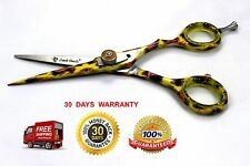 """Professional Hair Cutting Barber Shears LIONS PRINT  Hairdressing Scissors 5.5"""""""
