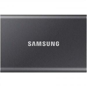 Samsung T7 500GB Portable SSD ,  USB 3.2 Gen2 (10Gbps)  , Up to 1050MB/s,