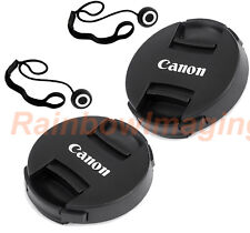 2 x 72mm Snap-On Front Lens Cap Keeper for Canon Lens US Seller