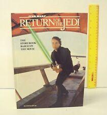 Vintage 1983 Star Wars RETURN OF THE JEDI 1st Ed Storybook Based on The Movie VG