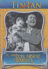 DVD - El Que Con Ninos Se Acuesta NEW Tin Tan Coleccion FAST SHIPPING !