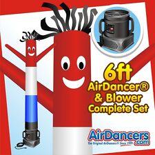 Red, White, & Blue Air Dancer® & Blower 6ft Sky Dancer
