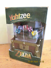 ~YAHTZEE THE LEGEND OF ZELDA - DICE GAME/BOARD GAME - BN and SEALED~