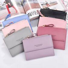 Girls Women Short Wallet Coin Purse Pocket Organizer Small Credit Card Holder