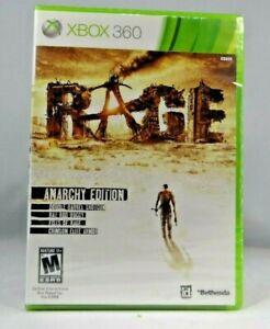 Rage (Microsoft Xbox 360/ Xbox One ) Anarchy Edition - W/DLC Free Shipping *New*