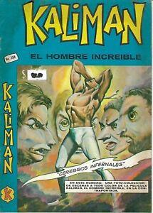 Kaliman El Hombre Increible #350 - Agosto 12, 1972 - Mexico