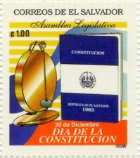 EL SALVADOR 1996 MNH SC 1454 CONSTITUTION DAY