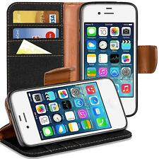 Funda protectora Apple iPhone 4 4s funda FLIP CASE celular plegable bolsa funda Book cover