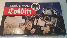 Escape From Colditz Board Game Gibsons Games 1980s COMPLETE GC RARE
