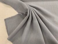 Wiltshire Flax Linen Blend Whisper Grey 140cm wide Curtain/Upholstery Fabric