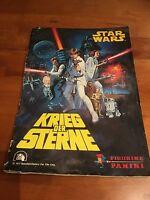 Panini Star Wars Krieg der Sterne 1977  Sammelalbum  - komplett