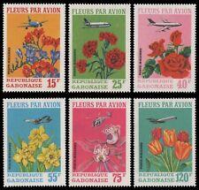 Gabun 1971 - Mi-Nr. 425-430 ** - MNH - Blumen / Flowers