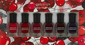 Deborah Lippmann Limited Edition Very Berry 6 Piece Nail Polish Set 0.27 oz
