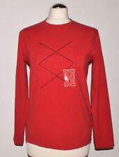 Tommy Hilfiger Sweatshirt  Gr.14  Rot   DamenSweatshirt  Langarm  Logo  Motiv