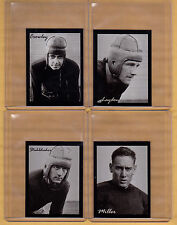 Set of 4: The Four Horsemen of Notre Dame Fighting Irish, Lone Star Litho