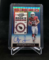 2019 Contenders Optic Andy Isabella RC Autograph/ /149