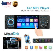 Single 1Din Car Radio Car Video Player 4'' HD Touch Screen MP5 Player FM AUX USB
