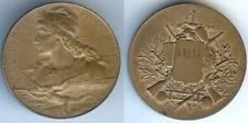 Médaille de prix - LAVAL concours de tir BOTTEE graveur Le Médailler édit d=41mm