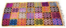Moroccan Rug Vintage Atlas Colourful Kids Playroom Pile Carpet Wool 100%