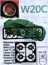 """RUOTE 1/43 SPEEDLINE 19"""" BMW 3/M3/Z3 - AUDI A6 - OPEL OMEGA  Sprint43  W20C"""