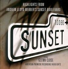 Sunset Boulevard by Glenn Close CD 1994 Andrew Lloyd Webber NEW FREE SHIPPING