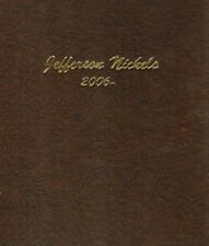 Dansco Coin Album 7114 Jefferson Nickels 2006 - DATE P & D Mints