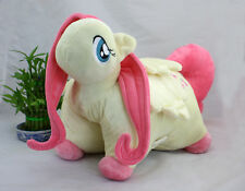 New My Little Pony Friendship is Magic Pink Fluttershy Plush Soft Pillow RARE
