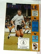 Port Vale -v- AFC Bournemouth 1992-1993