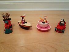 4 VINTAGE 1992 MCDONALDS EURO DISNEY Toys-Set Completo