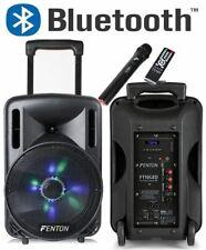 """CASSA AMPLIFICATA 450W 10"""" BLUETOOTH + BATTERIA + MICROFONO WIRELESS + USB"""