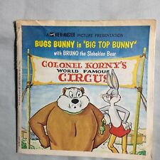 View-Master  A 549 Series 3 reels Bugs Bunny in Big Top Bunny/with Bruno