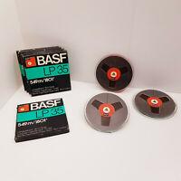"BASF LP 35 - 1801ft 549m 7"" Reel to Reel Tape Reel Recording Tape 7 inch 18cm"