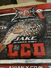 AVIAN-X QUARTER STRUT JAKE DECOY NEW IN BOX STAKE BAG AVIANX TURKEY