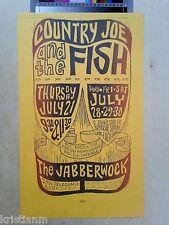 1967 Grateful Dead, Big Brother...Company The Jabberwock mini-poster A+
