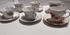 Lot Of 6 Cup And Saucers Fine China