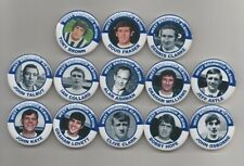 WEST BROMWICH ALBION  FC  F.A. CUP WINNERS 1968   BADGES X13  38MM IN SIZE