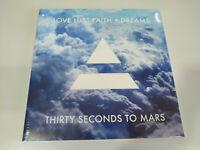 "THIRTY SECONDS TO MARS Love Lust Faith + Dreams - LP VINILO 12"" NUEVO 2013"