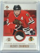 2001-02 Private Stock Game Gear Patch Variation Alexei Zhamnov