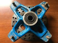OEM Suzuki LT250R Quadracer Front Wheel Hub and Rotor - Blue
