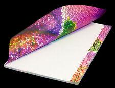 """Schreibblock Briefblock Notizblock Motivpapier DIN A4 / 50 Blatt """"Lavendeltraum"""""""
