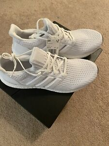 Adidas Ultra Boost Ultraboost Triple White 4.0 Mens Size 10.5 New In Box